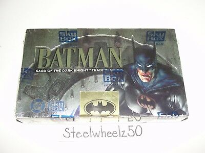 1994 Skybox Batman Saga Of The Dark Knight Trading Card Factory Sealed Box NEW