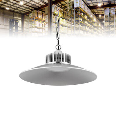 150W LED High Bay Light Hanging Comercial Factory Warehouse Industrial Day White