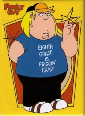 Family Guy Eighth Grade Is Crap Magnet FM1452