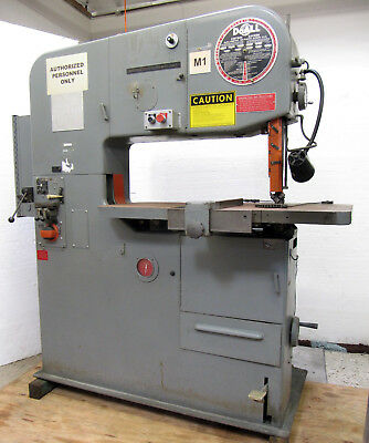 "DoALL 36"" VERTICAL METAL CUTTING BAND SAW, 13"" Work Height, 26"" Table, 5200-fpm"