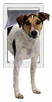 Perfect Pet Medium Pet Door with Telescoping Frame, 7-Inch by 11-Inch Opening