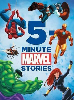 *NEW. 5-Minute Marvel Stories by Disney Book Group Staff (2012, Hardcover)