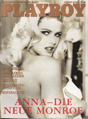 PLAYBOY 1993/08 [August 8/93] *Anna Nicole Smith* Elke Jeinsen*Suzy Simpson* TOP