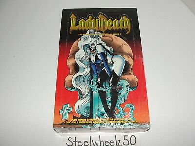 1995 Lady Death Series II Chromium Trading Card Factory Sealed Box 2 Chaos Krome