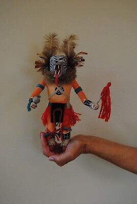 Very Detailed Hand-Crafted Native American Wolf Kachina