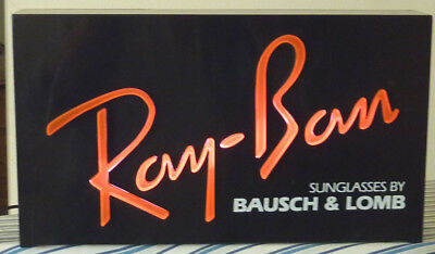 Vintage Ray-Ban In-Store Advertising Sign