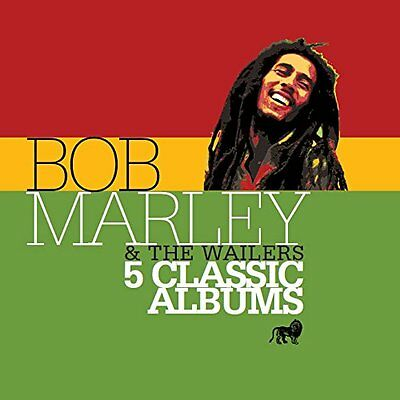 Bob Marley & The Wailers - 5 Classic Albums - New Cd Box Set