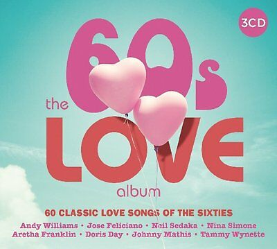 The 60S Love Album - New Cd Compilation