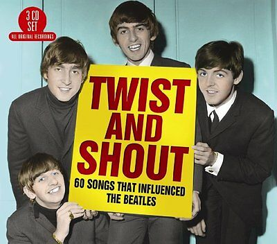 Twist And Shout: 60S Songs That Influenced The Beatles - New Cd Compilation