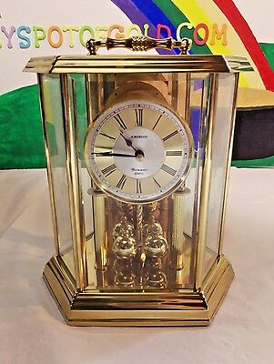 Angelus Carriage Mantle Westminster Clock from West Germany.