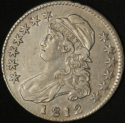 1812 Capped Bust Half Dollar - Free Shipping USA