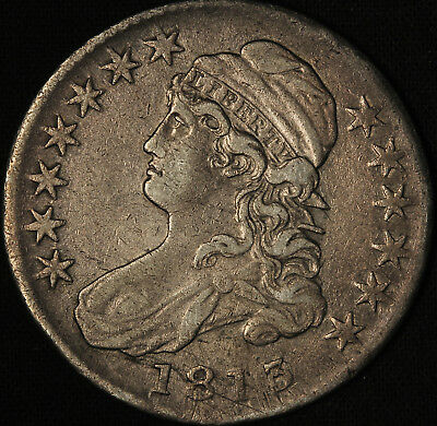 1813 Capped Bust Half Dollar - Free Shipping USA