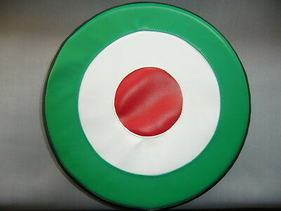 Italian Target Scooter Wheel Cover