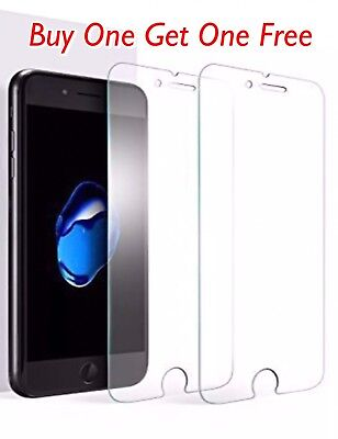 100% Genuine Tempered Glass Protector For Apple iPhone 8 - New