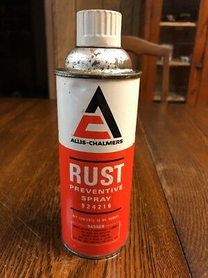 Vintage Allis-Chalmers Rust Preventive Spray Can 924216