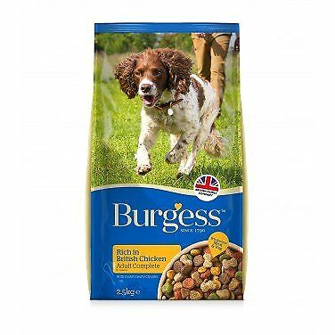 Burgess Adult Dog Rich In Chicken Dry Food 15Kg x 2 (30Kg)