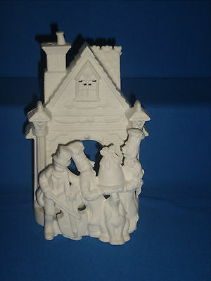 Partylite Bakery Carolers Candle Holder Retired P7123 (F24-09)