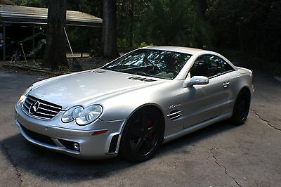 2005 Mercedes-Benz SL-Class AMG 2005 MERCEDES BENZ SL65 AMG V12 BI-TURBO HARD-TOP CONVERTIBLE