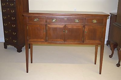 Craftique Huntboard Server Buffet Mahogany Harvey Ii