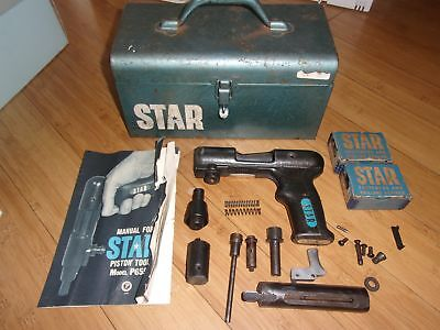 Vintage Star P655 Powder Actuated Piston Tool In Toolbox