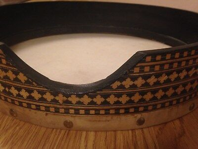 14 Inch Inlaid Frame Drum, Daff