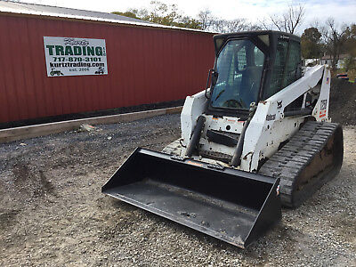 2005 Bobcat T250 Tracked Skid Steer Loader w/ Cab!