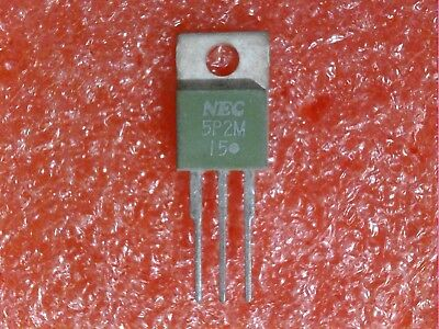 2 Pcs Nec 5P2M 200V 5A To-220Ab Glass Passivated Silicon Control Rectifier (Scr)