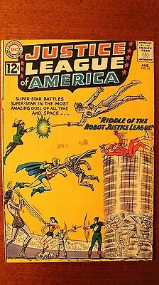 Justice League Of America #13, 1962 Issue, Speedy Appearance - 6.0