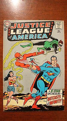 Justice League Of America #25, 1964 Issue, 8.0 Grade
