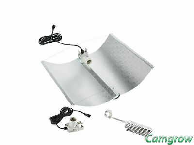 Adjust-A-Wings Avenger Miro Silver Reflector Large For 1000W Hydroponics