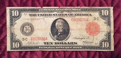 1914 10 red seal