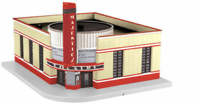 MTH O Gauge Movie Theater  Majestic New in the box # 30-90490 never opened