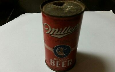 Miller Select flat top beer can.  Irtp and Oi