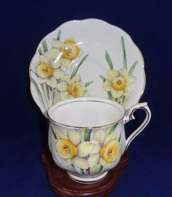 Royal Albert Bone China Flower of Month Daffodil No 3 Hand Painted