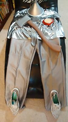 adult size tin man costume/with tin man shoes.