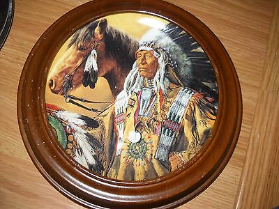 """Collector Plate """"Pride of the Sioux"""" by Paul Calle"""