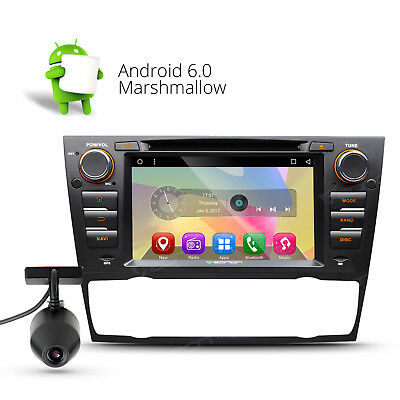 "Dashcam 7"" Android 6.0 Car DVD Player Touch GPS Navigation 3G W For BMW E90-E93"