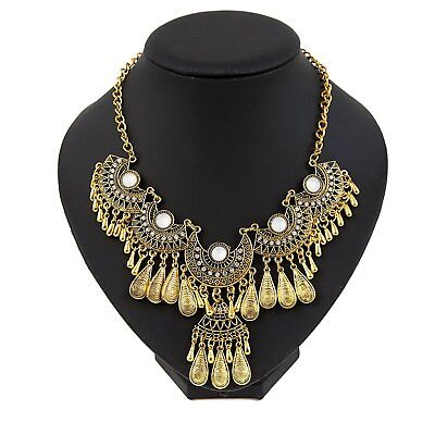 OpenBox Miraculous Garden Womens Vintage Antique Gold Ethnic Tribal Boho Beads F