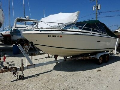 1977 Sea Ray SR22 Boat - Don't let the year deceive you.  This is a good boat!