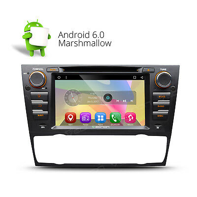 "GA7165 7"" Android 6.0 Car DVD Player Touch GPS Navigation 3G W For BMW E90-E93"