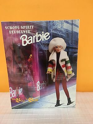 Barbie 'School Spirit' Bay Doll Hudson's Bay RARE NIB MINT