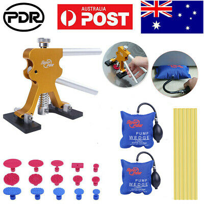 36× AU PDR Tools Dent Puller Lifter Paintless Hail Repair Removal Tap Down Glue