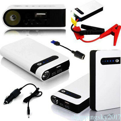 Practical Car Jump Starter Pack Booster 20000mAh LED Charger Battery Power Bank#