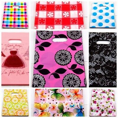 Free Ship 100Pcs Plastic Shopping/Gift Small Packing Bag 15x20cm