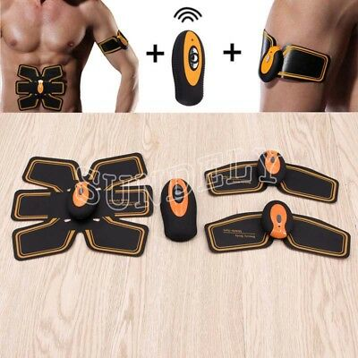 EMS Muscle Stimulator,Abdominal Toning Belt ,Muscle Toner Abs Trainer Gear
