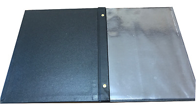 10 A4 Menu Two Part Covers with 4 Pockets $177.50 FREE FREIGHT