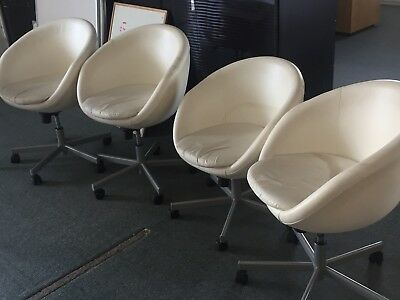 4 x Bucket Swivel Chairs