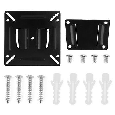 "TV Wall Mount Bracket For 14""-24"" Flat Panel LCD LED Plasma Monitor TV PC Screen"