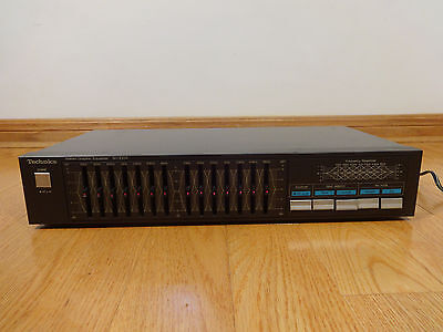 Technics SH-Z250 7-Band Stereo Graphic Equalizer TESTED 100%