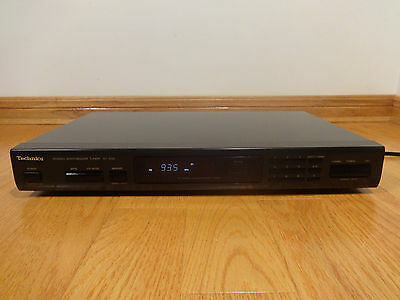 Technics ST-K55 AM/FM Stereo Tuner 1988 Japan TESTED 100% Works Great!